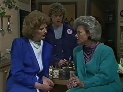 Madge Bishop, Henry Ramsay, Helen Daniels in Neighbours Episode 0611