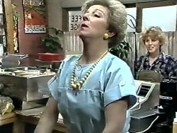 Eileen Clarke, Charlene Mitchell in Neighbours Episode 0612