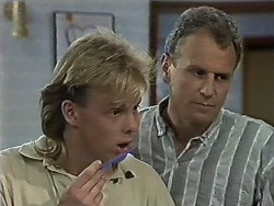 Scott Robinson, Jim Robinson in Neighbours Episode 0613