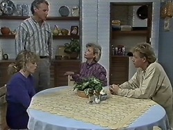 Charlene Mitchell, Jim Robinson, Helen Daniels, Scott Robinson in Neighbours Episode 0613
