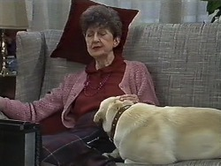 Nell Mangel, Bouncer in Neighbours Episode 0613
