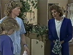 Charlene Mitchell, Henry Ramsay, Madge Bishop in Neighbours Episode 0613