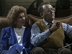 Madge Bishop, Harold Bishop in Neighbours Episode 0614