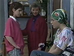 Chrissy, Helen Daniels, Lucy Robinson in Neighbours Episode 0614