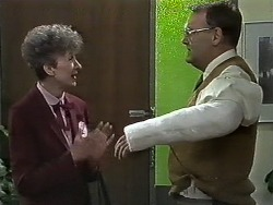 Nell Mangel, Harold Bishop in Neighbours Episode 0614