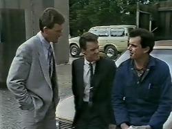 Des Clarke, Paul Robinson, Greg Cooper in Neighbours Episode 0615