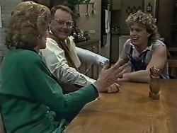 Madge Bishop, Harold Bishop, Henry Ramsay in Neighbours Episode 0615