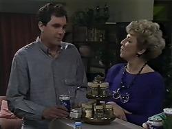Greg Cooper, Eileen Clarke in Neighbours Episode 0615
