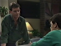 Des Clarke, Paul Robinson in Neighbours Episode 0615