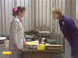 Melanie Pearson, Henry Ramsay in Neighbours Episode 0616