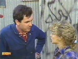Greg Cooper, Charlene Robinson in Neighbours Episode 0616