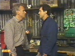 Jim Robinson, Greg Cooper in Neighbours Episode 0616