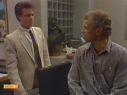 Paul Robinson, Jim Robinson in Neighbours Episode 0617