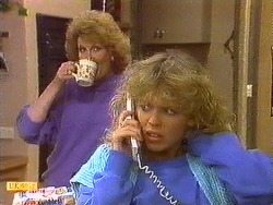 Madge Bishop, Charlene Mitchell in Neighbours Episode 0617