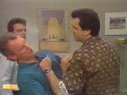 Jim Robinson, Paul Robinson, Greg Cooper in Neighbours Episode 0617