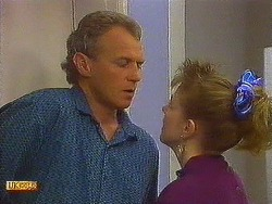 Jim Robinson, Melanie Pearson in Neighbours Episode 0618
