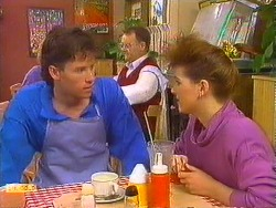 Mike Young, Harold Bishop, Chrissy in Neighbours Episode 0618