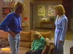 Scott Robinson, Charlene Mitchell, Madge Bishop in Neighbours Episode 0618