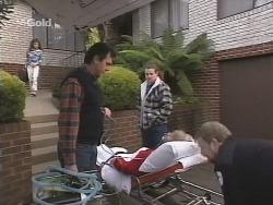 Hannah Bence, Karl Kennedy, Toadie Rebecchi, Helen Daniels in Neighbours Episode 2691