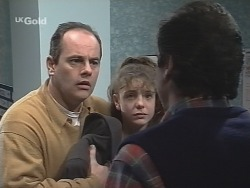 Philip Martin, Hannah Martin, Karl Kennedy in Neighbours Episode 2691