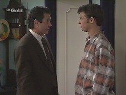 Karl Kennedy, Malcolm Kennedy in Neighbours Episode 2692