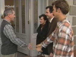 Martin Munro, Susan Kennedy, Karl Kennedy, Malcolm Kennedy in Neighbours Episode 2692