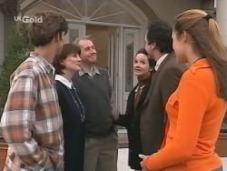 Malcolm Kennedy, Karen Munro, Martin Munro, Susan Kennedy, Karl Kennedy, Shona Munro in Neighbours Episode 2692