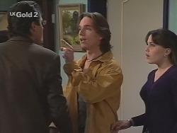 Karl Kennedy, Darren Stark, Libby Kennedy in Neighbours Episode 2693