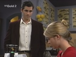 Steve George, Danni Stark in Neighbours Episode 2693