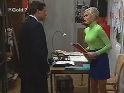Rob Evans, Joanna Hartman in Neighbours Episode 2693