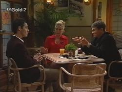 Steve George, Danni Stark, Tony in Neighbours Episode 2693