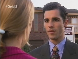 Danni Stark, Steve George in Neighbours Episode 2694