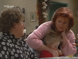 Marlene Kratz, Louise Carpenter (Lolly), Cheryl Stark in Neighbours Episode 2696