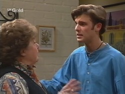 Marlene Kratz, Malcolm Kennedy in Neighbours Episode 2696