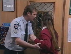 Sgt. Richardson, Libby Kennedy in Neighbours Episode 2696