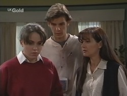 Libby Kennedy, Malcolm Kennedy, Susan Kennedy in Neighbours Episode 2697