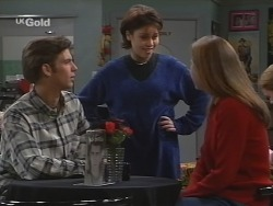 Malcolm Clarke, Becky Williams, Shona Munro in Neighbours Episode 2698