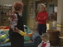 Cheryl Stark, Danni Stark, Louise Carpenter (Lolly) in Neighbours Episode 2698