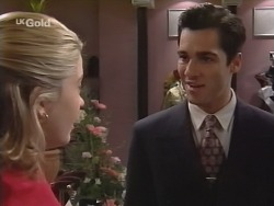 Danni Stark, Steve George in Neighbours Episode 2698