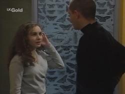 Debbie Martin, Luke Handley in Neighbours Episode 2699