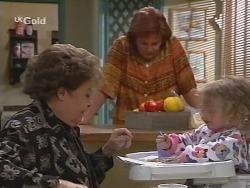 Marlene Kratz, Cheryl Stark, Louise Carpenter (Lolly) in Neighbours Episode 2700