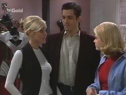 Joanna Hartman, Steve George, Danni Stark in Neighbours Episode 2700