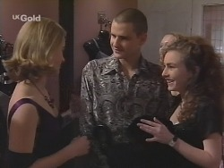 Danni Stark, Luke Handley, Debbie Martin in Neighbours Episode 2700