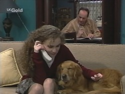 Debbie Martin, Holly, Philip Martin in Neighbours Episode 2701