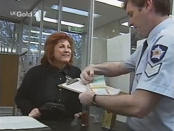 Cheryl Stark, Sgt. Richardson in Neighbours Episode 2703