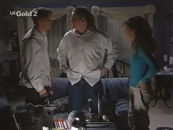Billy Kennedy, Toadie Rebecchi, Hannah Martin in Neighbours Episode 2703