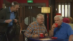 Karl Kennedy, Harold Bishop, Lou Carpenter in Neighbours Episode 6179