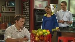Kyle Canning, Jade Mitchell, Mark Brennan in Neighbours Episode 6180