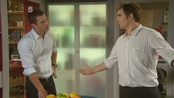 Mark Brennan, Kyle Canning in Neighbours Episode 6180