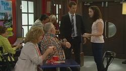 Carolyn Johnston, Harold Bishop, Mark Brennan, Kate Ramsay in Neighbours Episode 6180